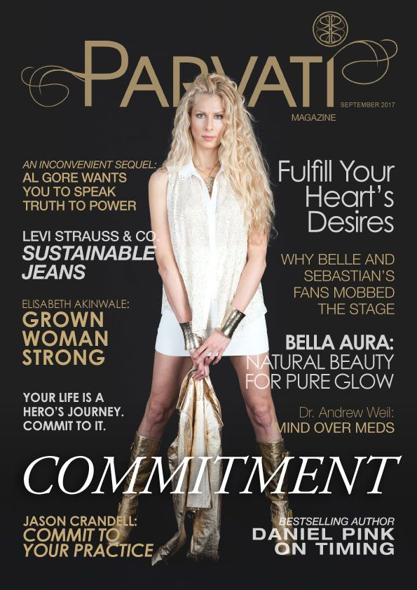 The September 2017 issue of Parvati Magazine is live! This month's issue features Daniel Pink, Bella Aura, Elisabeth Akinwale, Belle and Sebastian, Jason Crandall, and much more including my guided practice on fulfilling your heart's desires. Enjoy this monthly resource from volunteers dedicated to realizing the Marine Arctic Peace Sanctuary!