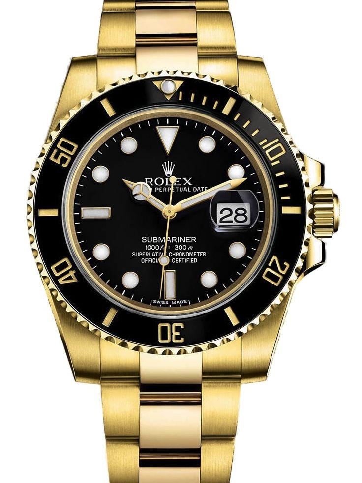 Rolex Submariner Weiss