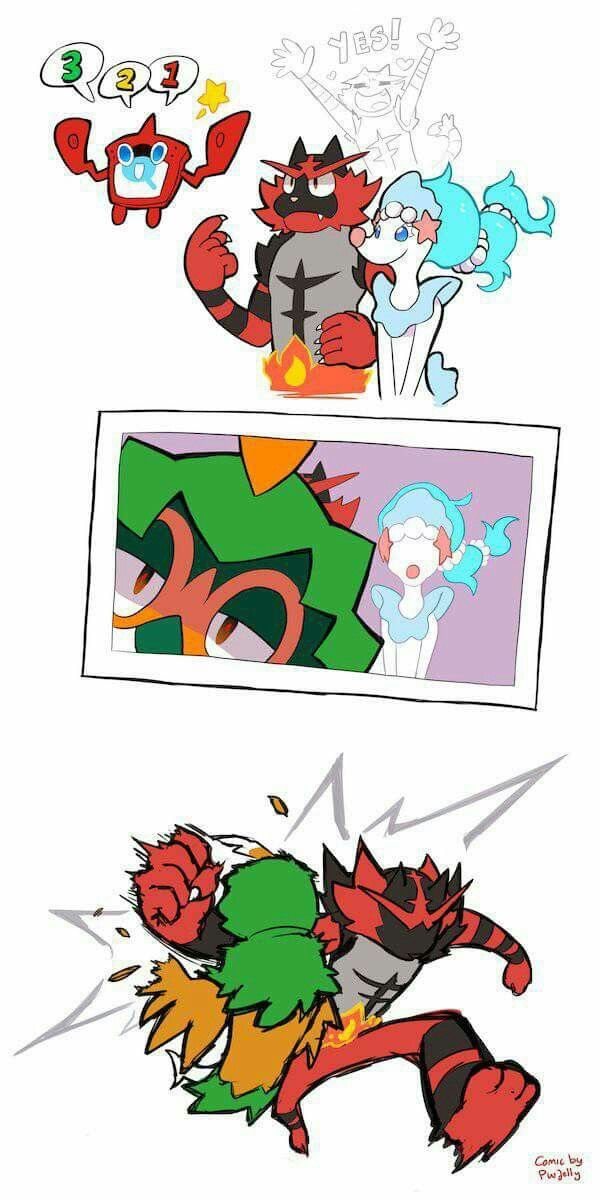 Decidueye is like the emo son, Incineroar is the former quarterback father who doesn't know how to connect with his son, and Primarina is the model mom who everyone loves