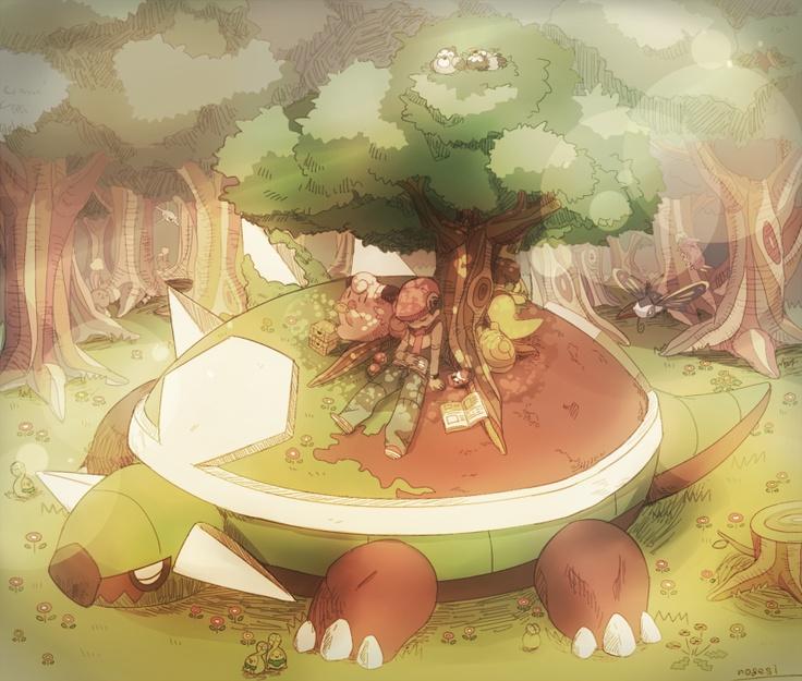 Pokemon 389 Torterra Pokedex: Evolution, Moves, Location ...