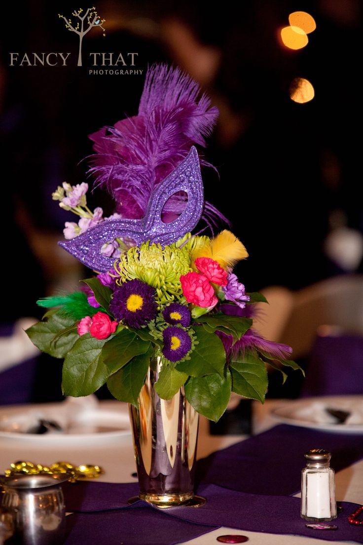 Mardi Gras Wedding Floral By Bella Sara
