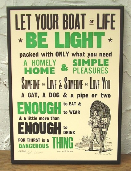 "Jerome K. Jerome (""Three Men In A Boat"" is one of my all-time favorite books. Read it.)"
