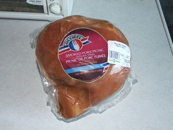 The other day I was in the supermarket and they had a good sale on smoked picnic shoulders. These...