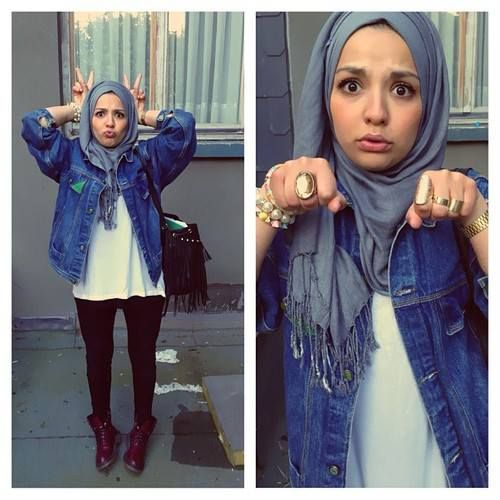COOL Doc Martens with hijab