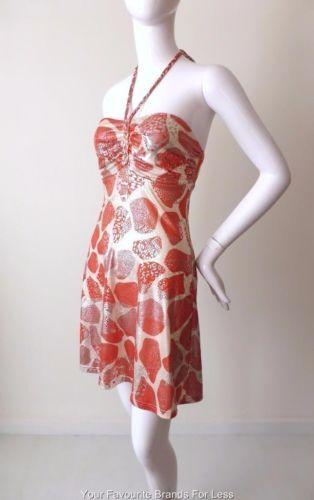 Sunny-Girl-Halter-Neck-Mini-Dress-Size-8-US-4
