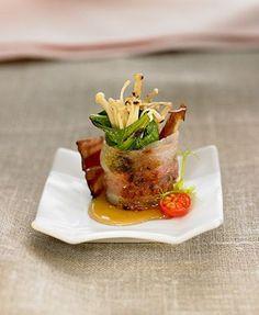 Atadillo de espinacas con bacon y miel | Delicooks | Good Food Good Life