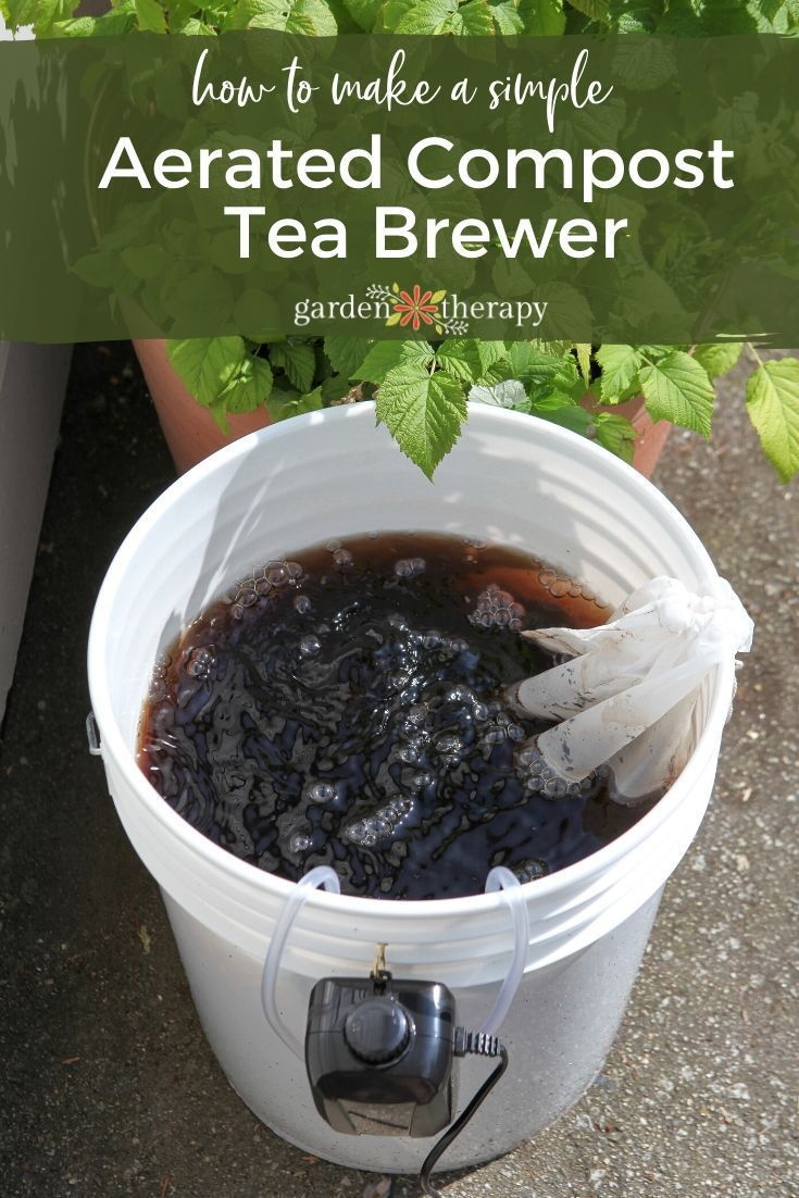 Make Compost Tea With This Diy Home Brewer In 2020 Compost Tea Brewer Compost Tea Brewer Diy Compost Tea Recipe