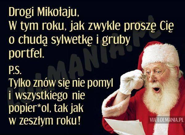 List do św. Mikołaja…