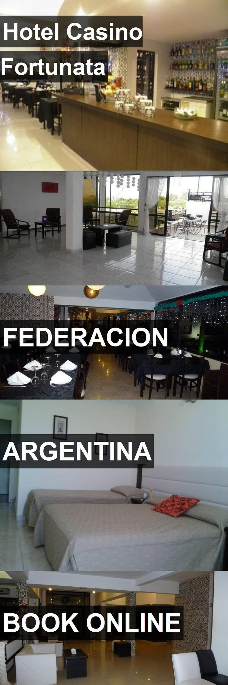 Hotel Casino Fortunata in Federacion, Argentina. For more information, photos, reviews and best prices please follow the link. #Argentina #Federacion #travel #vacation #hotel