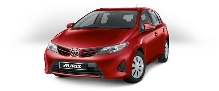 Toyota Auris - Crimson Metallic