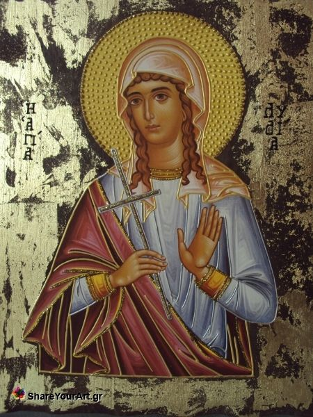Saint Lydia of Philippi, the Equal to the Apostles