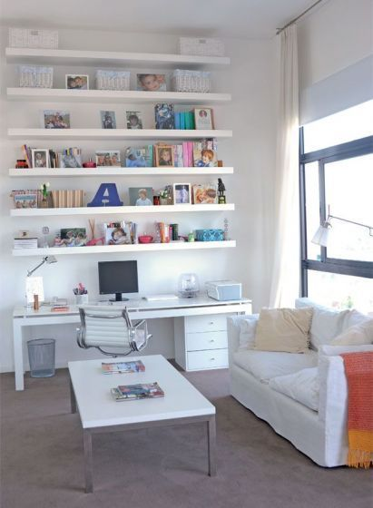 Home office and craft room would be great for grading papers, doing lesson plans, and crafting!