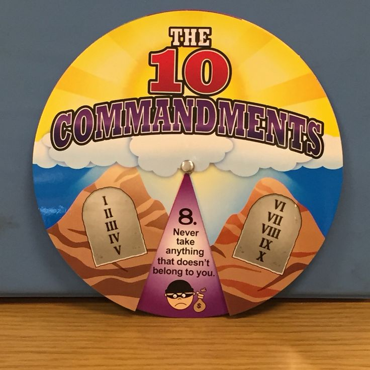 Ten Commandments Wheel Summer Camp Wilderness Adventure