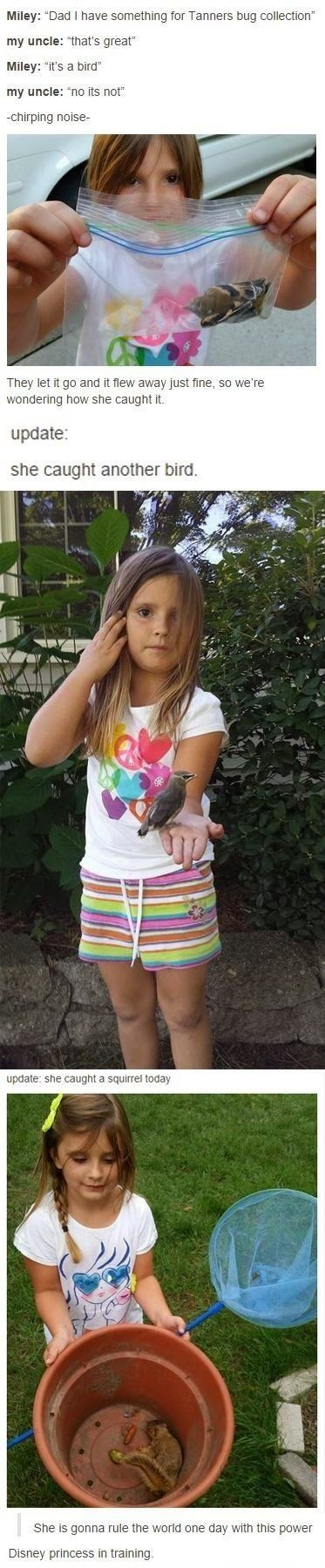 NO BUT SERIOUSLY, ANYONE REALIZE WHO THIS LIL GIRL LOOK LIKE!?!? O.O