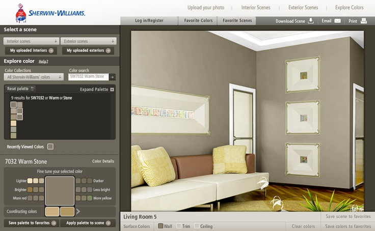 Https Www Sherwin Williams Com Visualizer Demonstrating