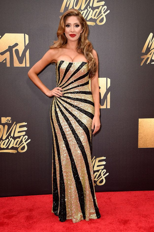 Farrah Abraham | Here's What Everyone Wore To The 2016 MTV Movie Awards