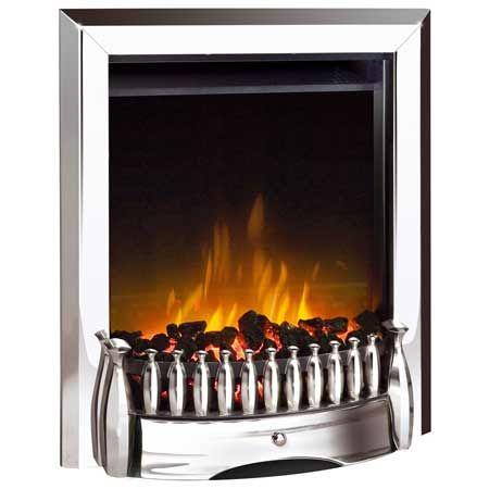 Dimplex EBY15CH Exbury Inset Electric Fire 1.2kw Chrome