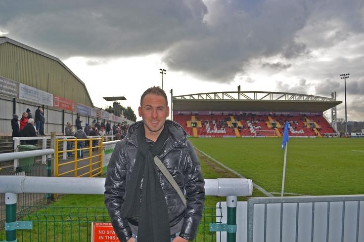 Woking FC, Kingfield Stadium, 13/01/2013