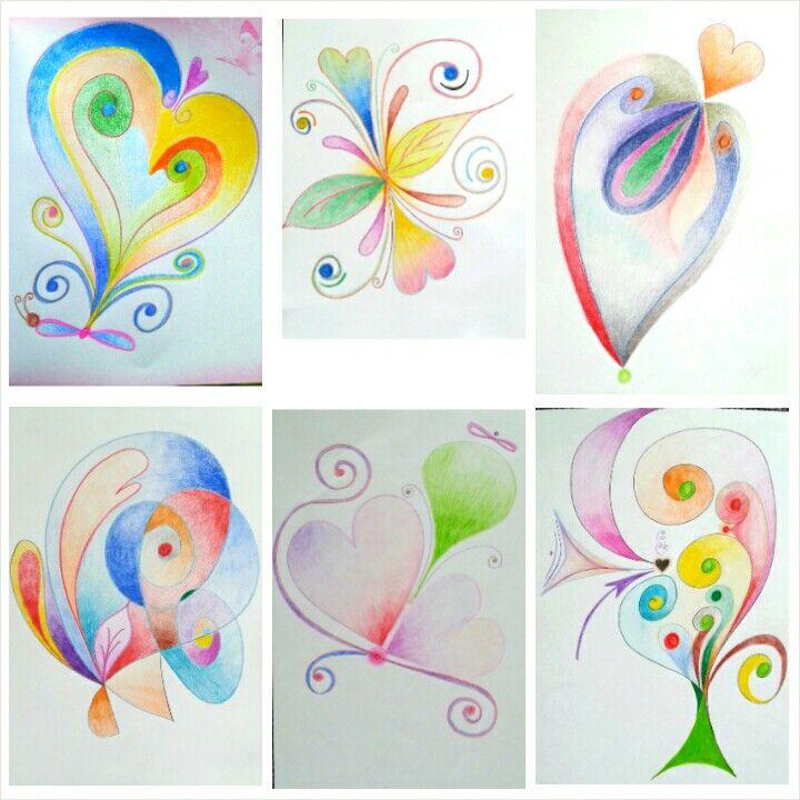 Automatic drawing by Meggie - farbičky neoklameš ☺