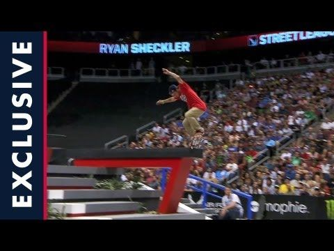 Sheckler Sessions - Backstage at Street League Arizona - Episode 3 - YouTube