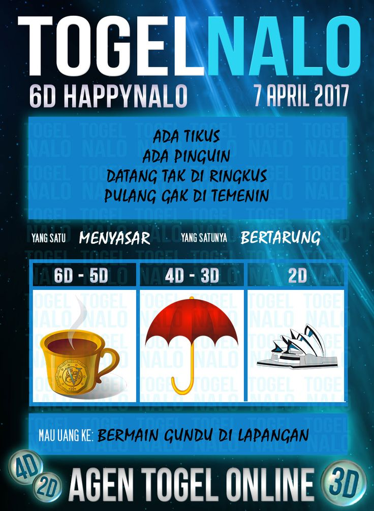 Mimpi 5D Togel Wap Online Kupon HappyNalo Jakarta 7 April 2017