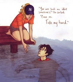 YES~~Annabeth + Percy