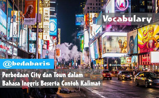 Perbedaan City dan Town dalam Bahasa Inggris Beserta Contoh Kalimat   http://www.belajardasarbahasainggris.com/2017/04/26/perbedaan-city-dan-town-dalam-bahasa-inggris-beserta-contoh-kalimat/