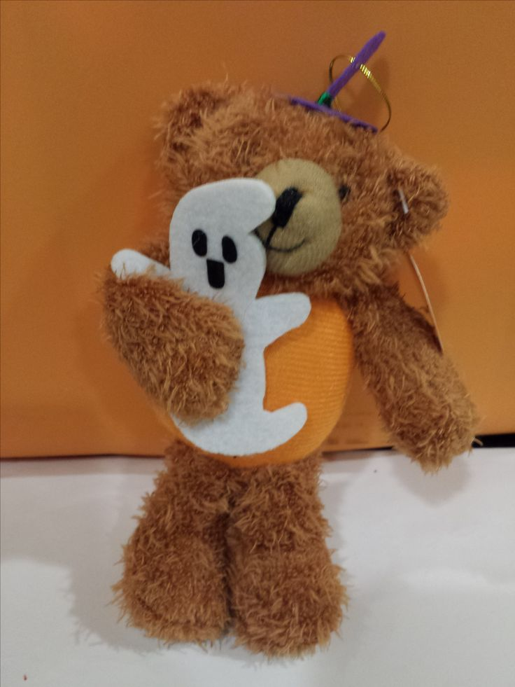 Halloween Witch Ghost Bear