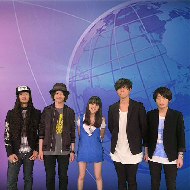 [Alexandros]2015/6/1 越野アンナ & [Alexandros] 「INTERNATIONAL FLASH」/SPACE SHOWER TV - Instagram