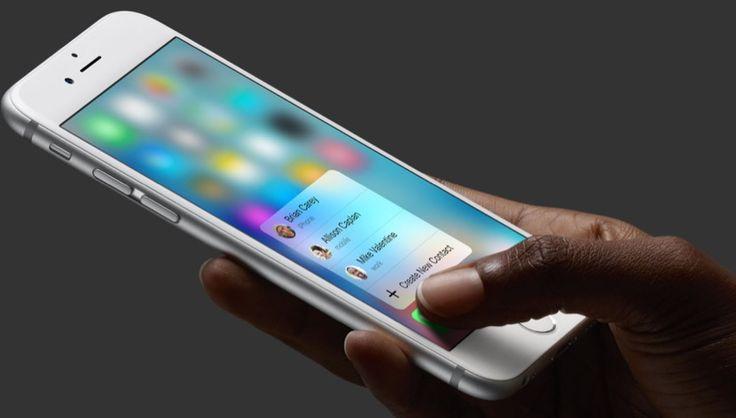 3D Touch nos permitirá usar el iPhone de un modo totalmente nuevo - http://www.actualidadiphone.com/3d-touch-nos-permitira-usar-el-iphone-de-un-modo-totalmente-nuevo/