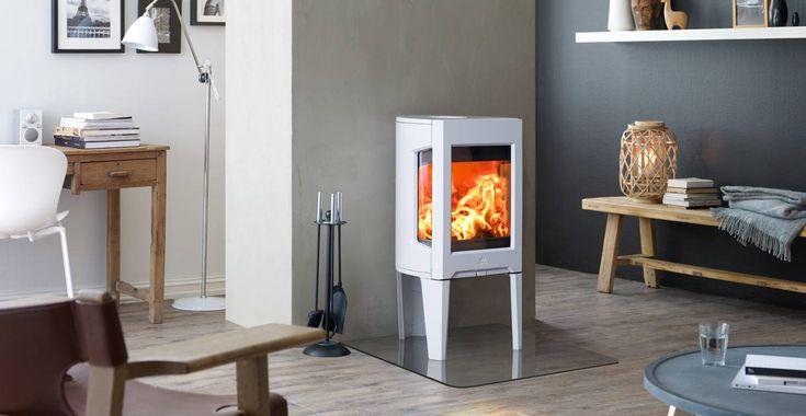Jøtul F 163 is geschikt voor lage energie woningen – en is één van de schoonst brandende kachels verkrijgbaar
