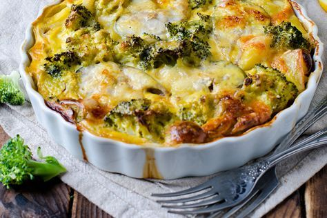 Salmon and Broccoli Gratin: Get your daily omega-3s with this creative salmon recipe.