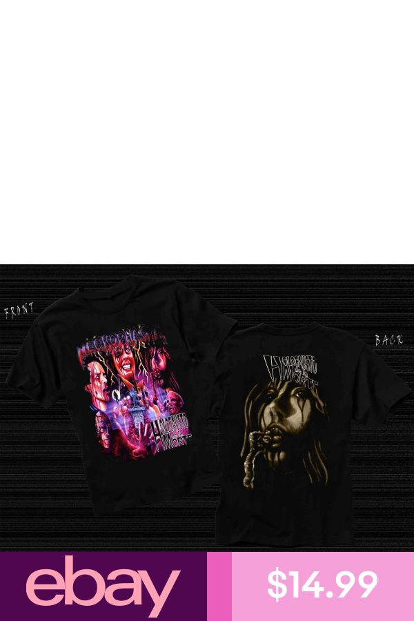 Holocausto de la Morte-death metal band,T/_shirt SIZES:S to 6XL NECROPHAGIA-