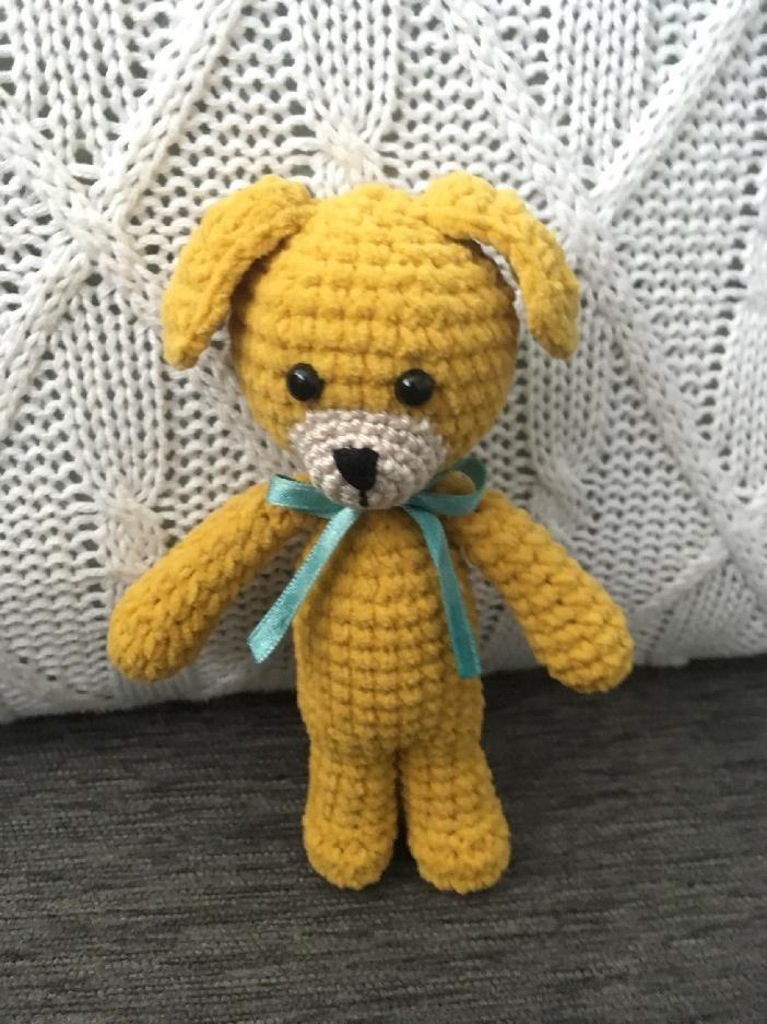 pejsek - malá hračka do ručičky