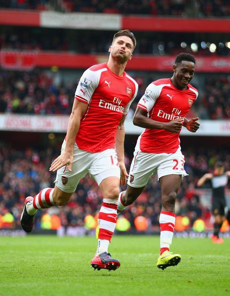 Olivier Giroud of Arsenal FC