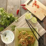 Thai Tuna Pea and Rice Fritters