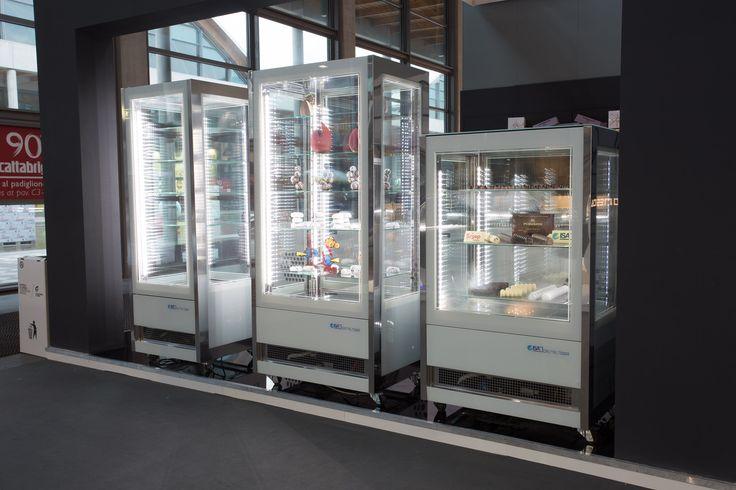 Cristal Tower  #ISA #icecream #gelato #pastry #foodandbeverage #Sigep #Rimini #Italy #Madeinitaly #displaycabinet #bar #design