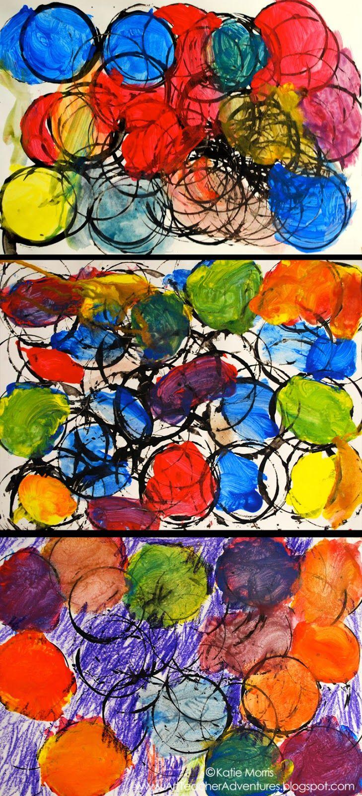 Kinder Circles -  Adventures of an ART teacher ≈≈
