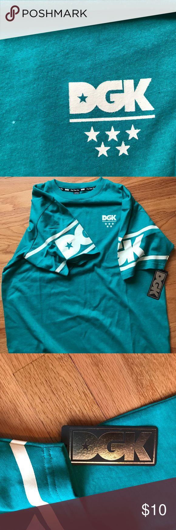 DGK shirt New never worn Teal DGK shirt. DGK Shirts Tees - Short Sleeve