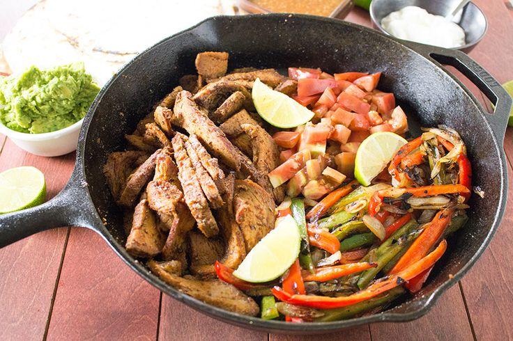 Grilled Tri-Tip Steak Fajitas – Recipe