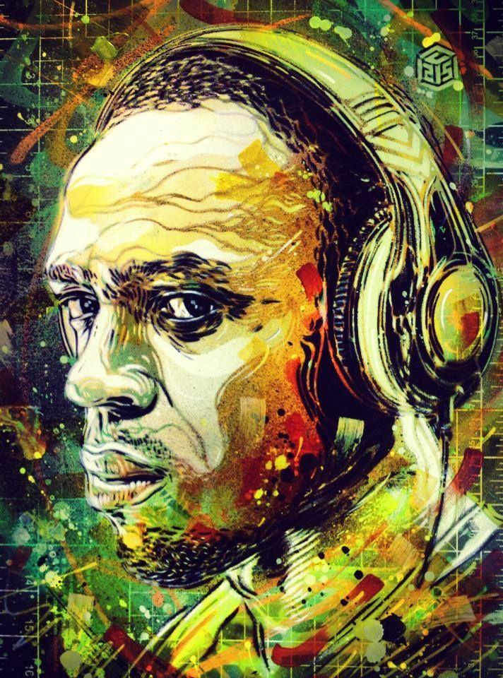 C215 - Usain Bolt | Guerilla Artfare | Pinterest