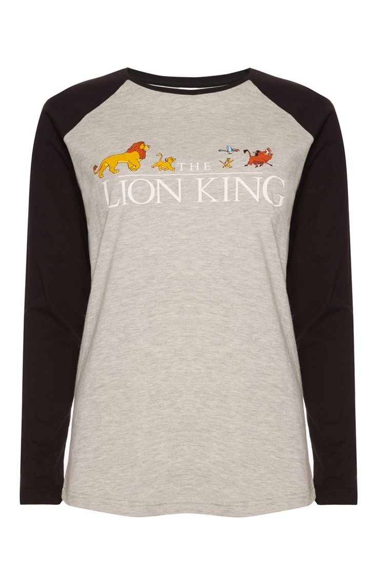 Primark - Grijs shirt Disney Lion King