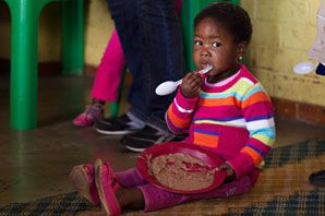 Cotlands Winter Warmth Campaign Cotlands reaches thousands of vulnerable children each month with warm meals through our early learning play groups. Often the warm meal they receive at our early learning play group is their only meal for the day. As we head into winter we are reminded of the harsh conditions many families in South Africa face. We know from years of experience that shack fires increase, that children are locked up indoors and so many do not have warm clothes or shoes.