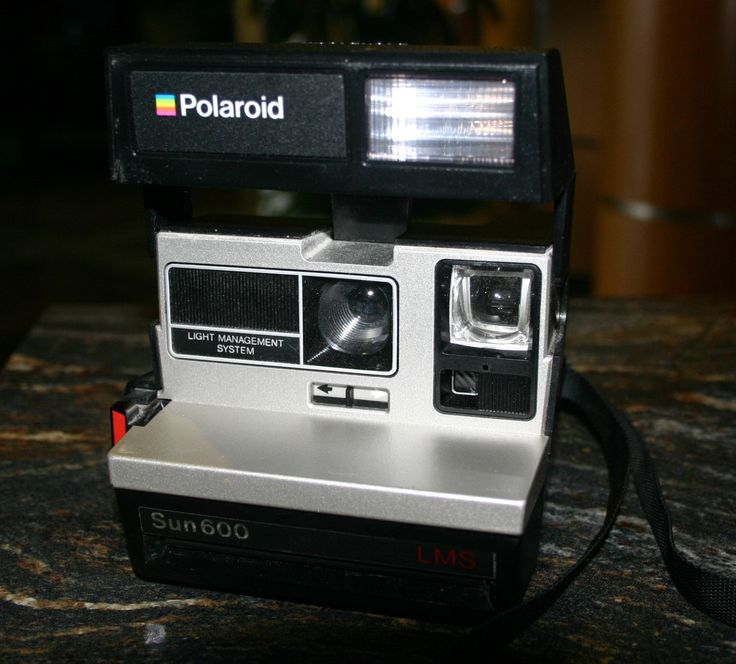 Polaroid Sun 600 LMS, Instamatic Camera, Hot Trending Item, Hipster Cool. by BigSteel763 on Etsy