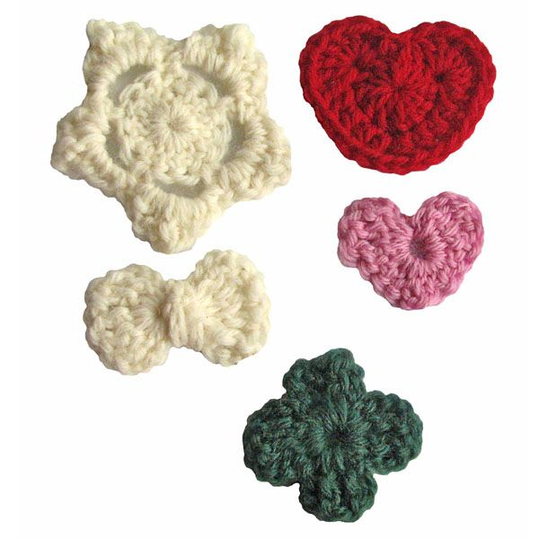 Crocheted embellishments