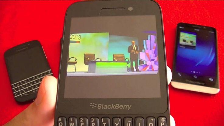 BlackBerry Z30 vs Q10 vs Z10 vs Q5, review comparativa. #tecnologia #blackberry #moviles
