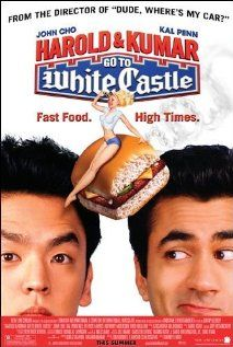 Harold & Kumar Go to White Castle (2004)  An Asian-American office worker and his Indian-American stoner friend embark on a quest to satisfy their desire for White Castle burgers.