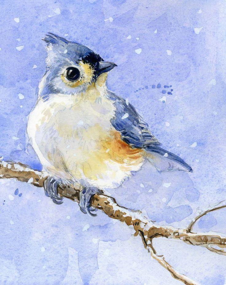 Original watercolor painting.