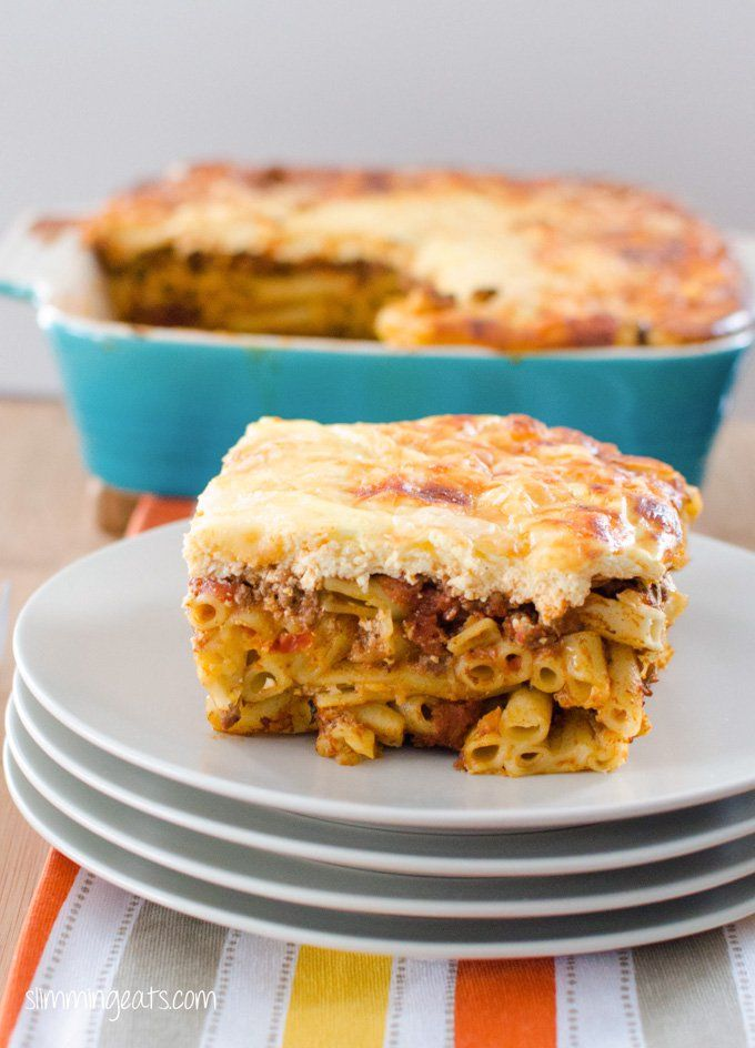 Never tried Pastitsio? Now might be just the time to try. This syn free pastitsio tastes amazing and is a great family meal.