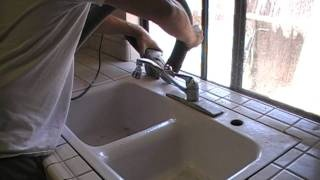 mobile home kitchen sink replacement how to remove and replace a kitchen sink via 9187